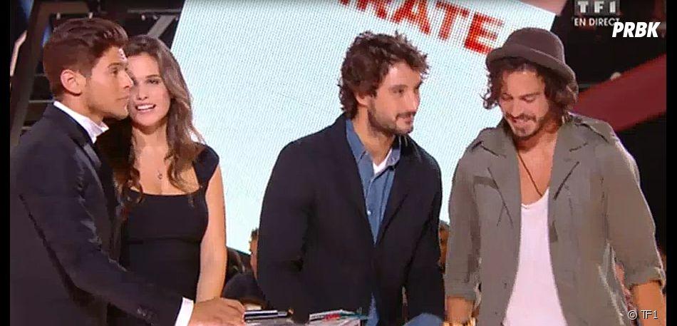 Fréro Delavega sacré aux NMA 2015, le 7 novembre 2015, à Cannes