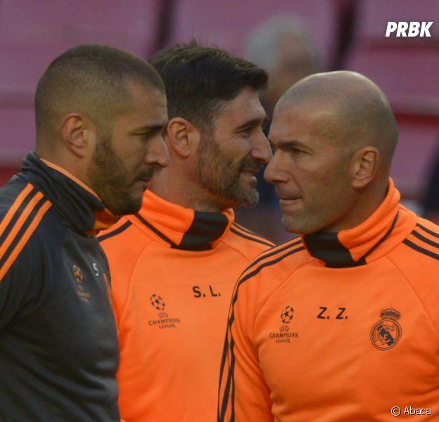 Karim Benzema mis en examen dans l'affaire Valbuena : Zinedine Zidane lui apporte son soutien