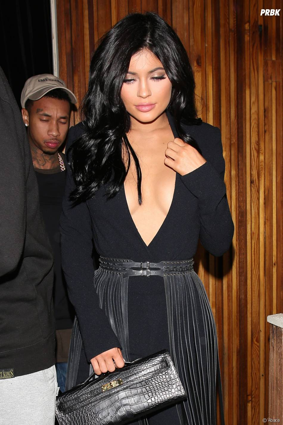 Kylie Jenner et Tyga en couple : soirée en amoureux à Los Angeles, le 12 novembre 2015