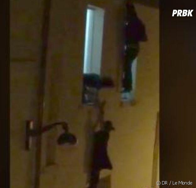 Attentats à Paris : la femme enceinte suspendue à une fenêtre du Bataclan retrouve l'homme qui l'a sauvé