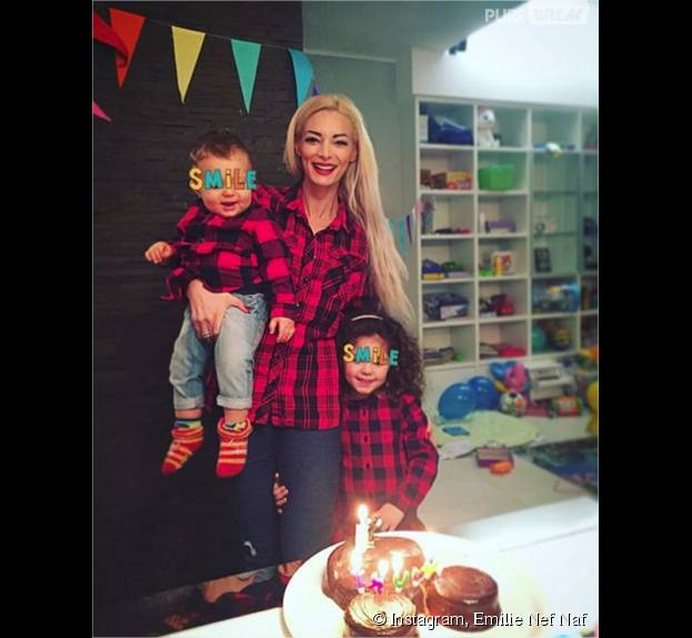 Emilie Nef Naf : Menzo fête ses 1 ans, sa photo avec son fils et sa fille Maëlla