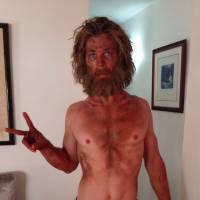 Chris Hemsworth maigre et barbu : la photo choc de sa perte de poids pour Au coeur de l'océan