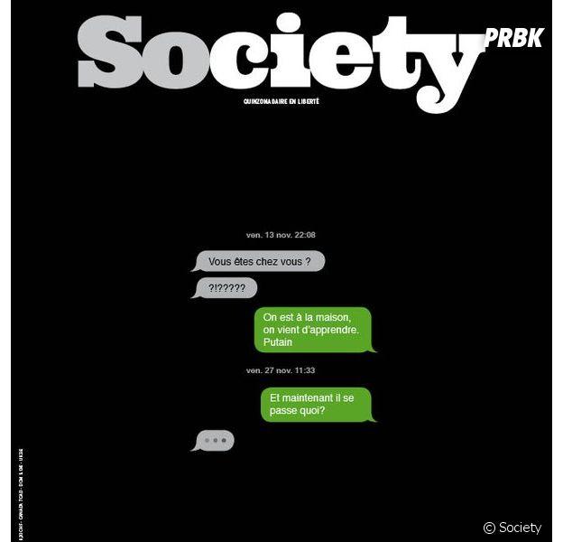 Attentats de Paris : la Une de Society fait le buzz