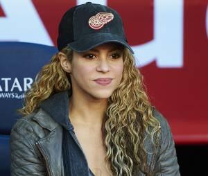 Shakira au match opposant le FC Barcelone à Real Sociedad le 28 novembre 2015 à Barcelone