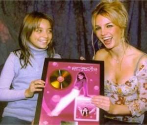 Quand Priscilla Betti rencontrait Britney Spears