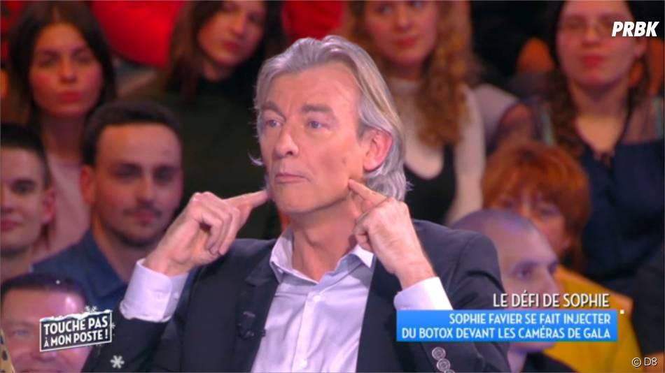 Gilles Verdez est un adepte du botox d'après des confessions faites dans TPMP, le 3 décembre 2015