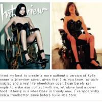 Kylie Jenner : une handicapée la tacle méchamment après sa photo sexy en chaise roulante