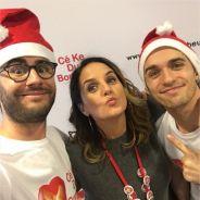 Cyprien, Squeezie, Enora Malagré, Ma2x... les stars fêtent Noël avec des enfants malades