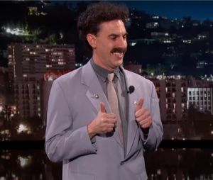Sacha Baron Cohen : Borat de retour pour se payer Donald Trump à la télévision américaine