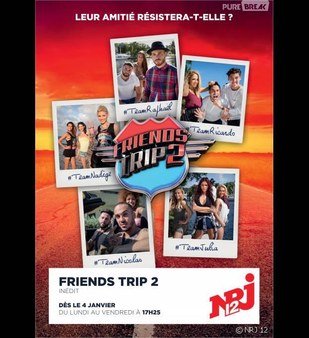 Friends Trip 2 : date de diffusion, candidats... tout ce qu'il faut savoir