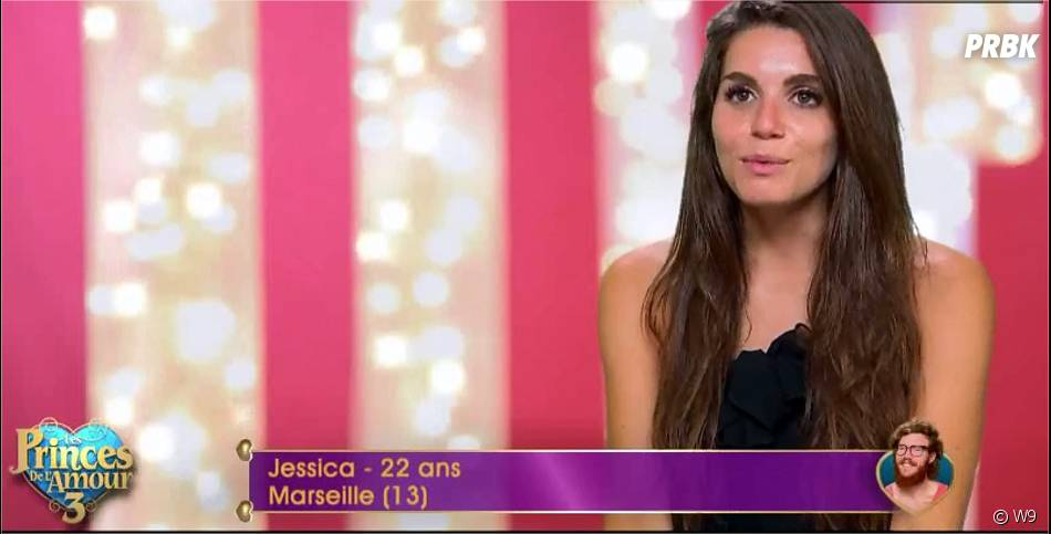 Jessica (Les Princes de l'amour 3) dans l'épisode du 18 décembre 2015 sur W9