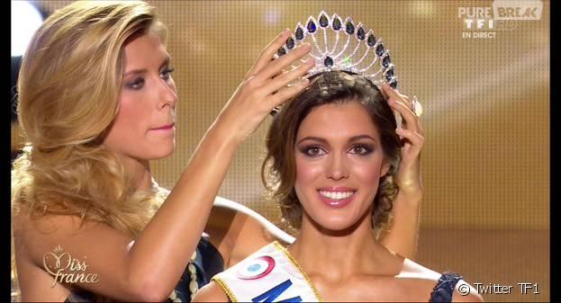 Iris Mittenaere gagnante de Miss France 2016