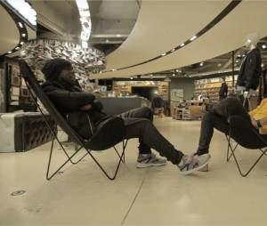 Jhon Rachid et Youssoupha parlent baskets à Citadium