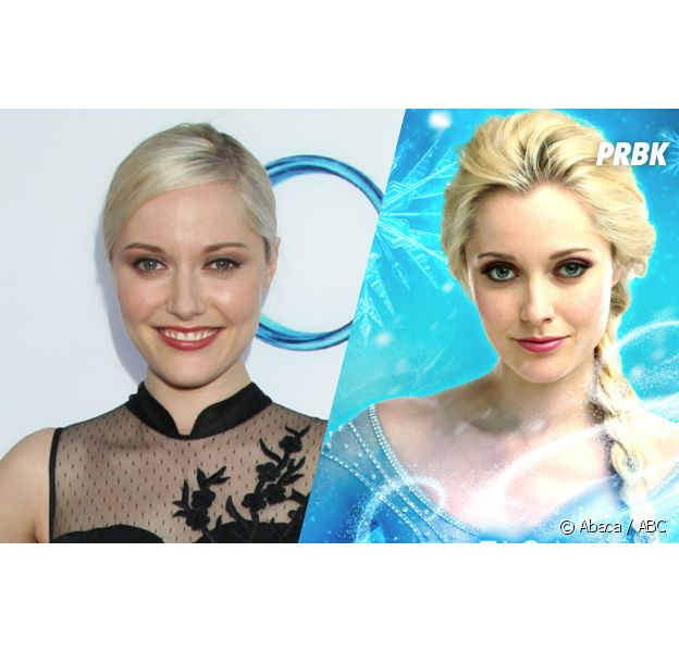 Georgina Haig incarne Elsa, la reine des Neiges dans la série Once Upon A Time