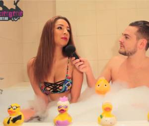 Emilie Amar (Friends Trip 2) en interview dans le bain de Jeremstar