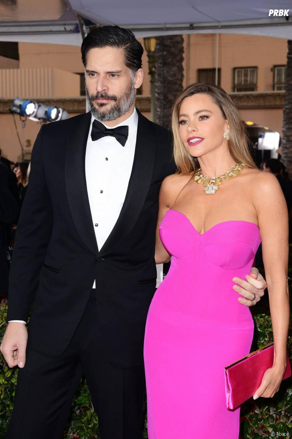 Sofia Vergara et Joe Manganiello en couple lors des SAG Awards 2016, le 30 janvier, à Los Angeles