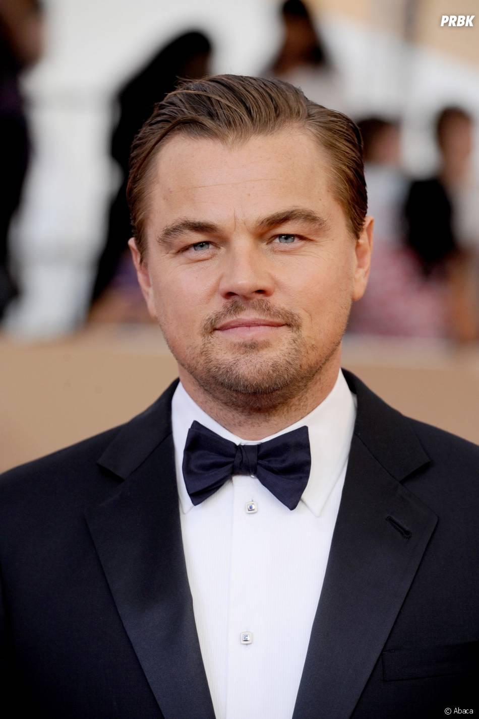 Leonardo DiCaprio classe lors des SAG Awards 2016, le 30 janvier, à Los Angeles