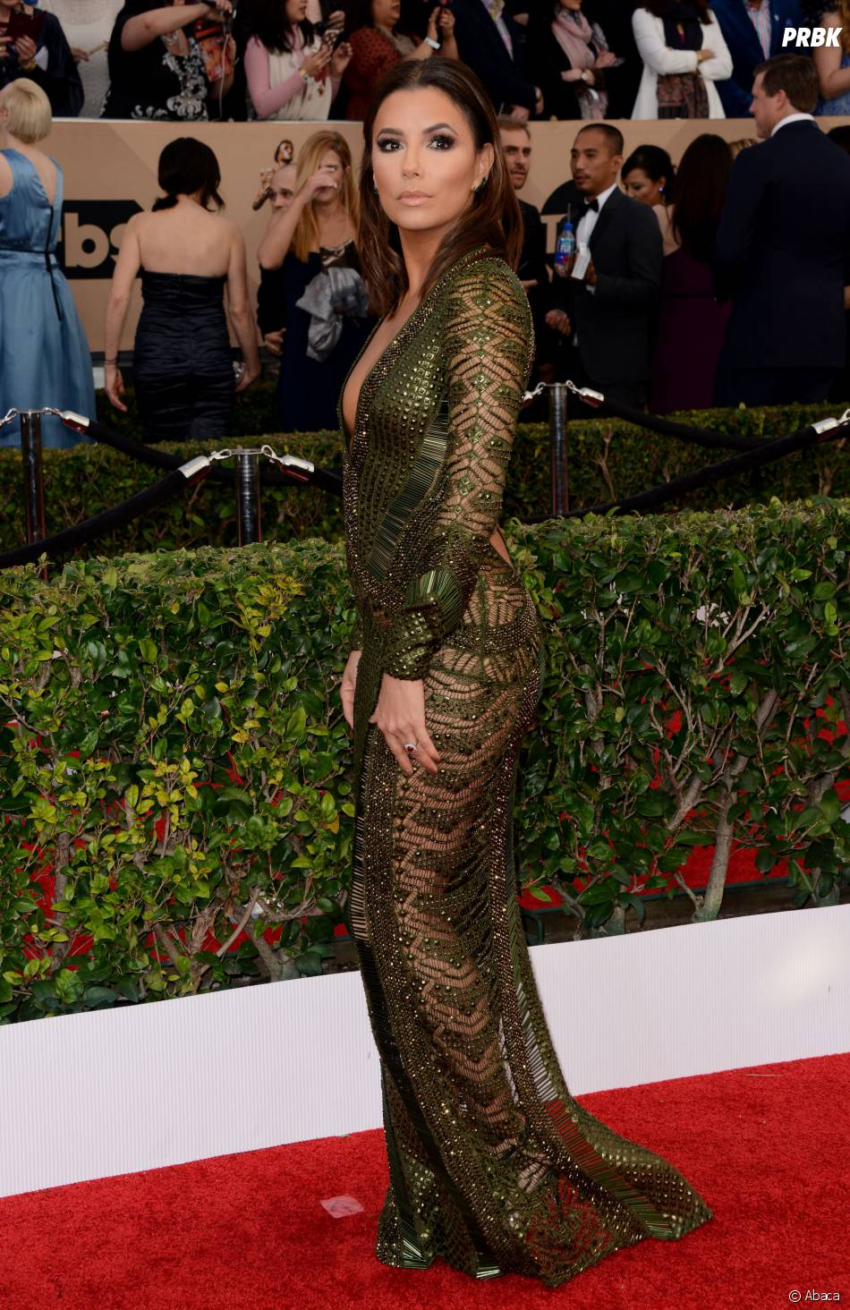 Eva Longoria hot lors des SAG Awards 2016, le 30 janvier, à Los Angeles