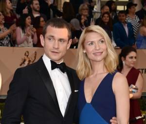 Claire Danes et Hugh Dancy en couple lors des SAG Awards 2016, le 30 janvier, à Los Angeles