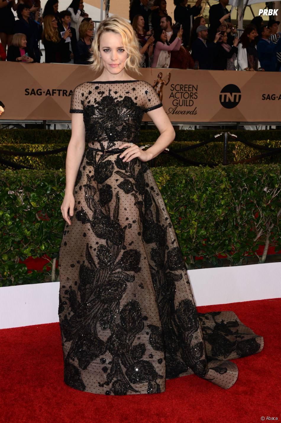 Rachel McAdams présente lors des SAG Awards 2016, le 30 janvier, à Los Angeles