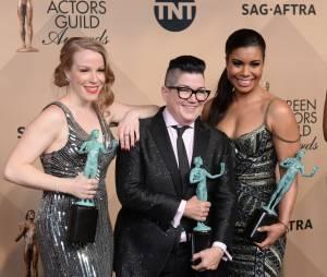 Orange is the new black gagnante lors des SAG Awards 2016, le 30 janvier, à Los Angeles