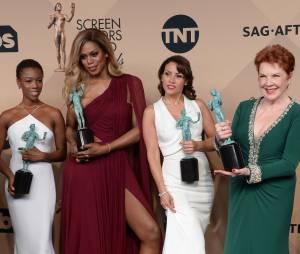 Orange Is The New Black : prix lors des SAG Awards 2016, le 30 janvier, à Los Angeles