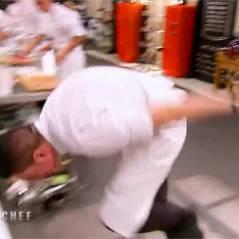 Top Chef 2016 : Charles fait une belle chute, Xavier voleur de jus d'orange