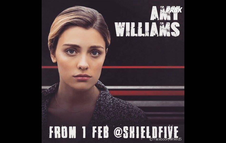 Shield5 : Amy Williams jouée par l'actrice Wallis Day