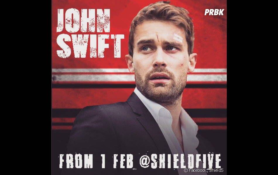 Shield5 : John Swift, joué par l'acteur Christian Cooke