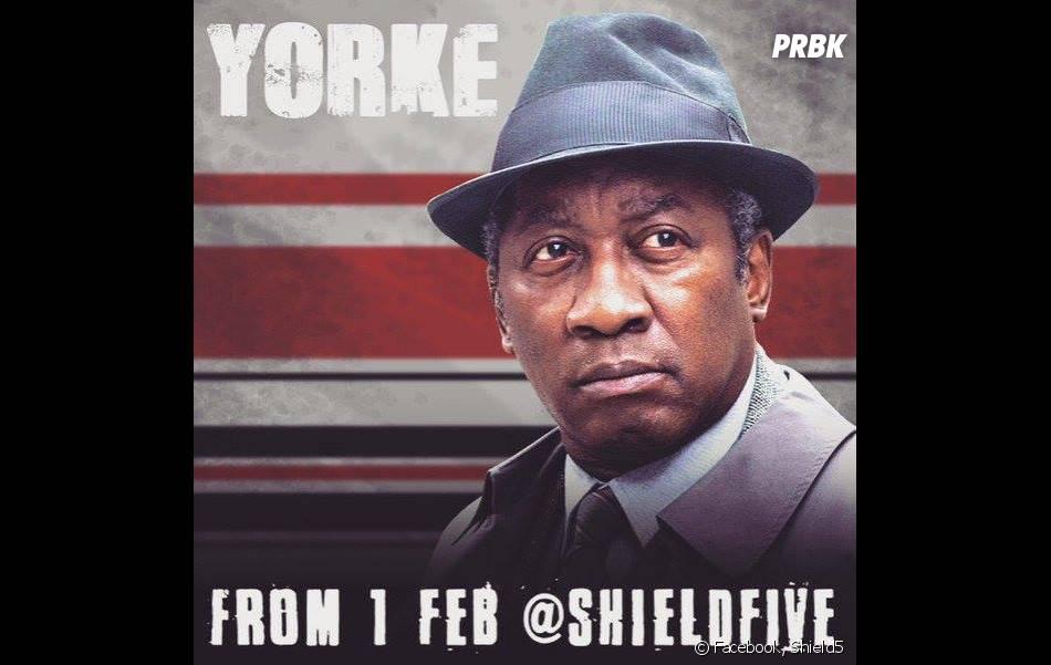 Shield5 : le personnage de Yorke, joué par Joseph Mydell