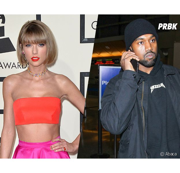 Kanye West répond au clash de Taylor Swift