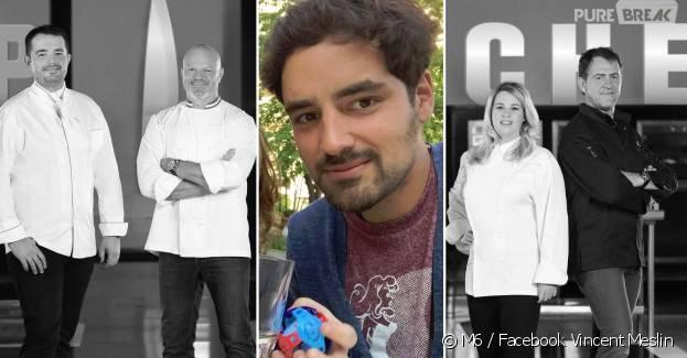Top Chef ; découvrez Vincent Meslin, le chef de l'ombre de l'émission