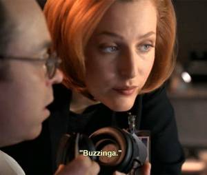 "X-Files : ""buzzinga"" utilisé avant The Big Bang Theory"