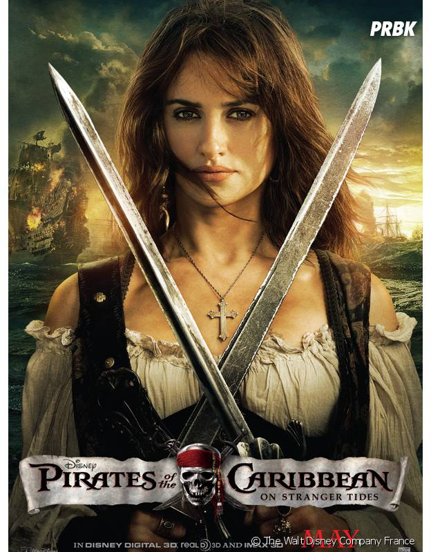 Penélope Cruz dans Pirates des Caraïbes