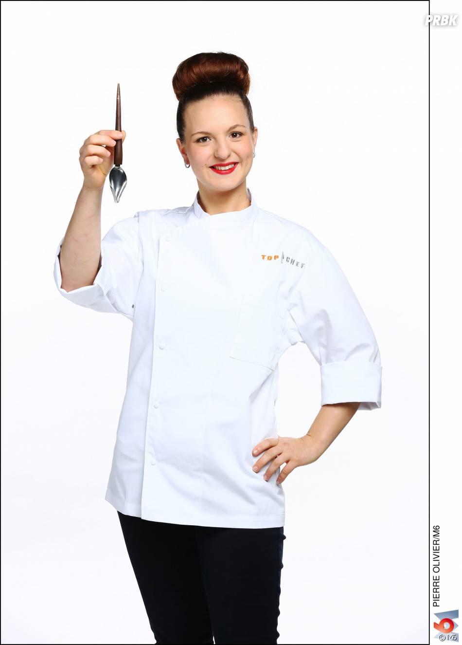 """Top Chef 2016 :Joy-Astrid Poinsot (25 ans) : Second de Cuisine dans le restaurant """"Chez Camille"""" (Harnay le Duc, Côte-d'Or) / Ses Mentors : Armand Poinsot et Paul Bocuse"""