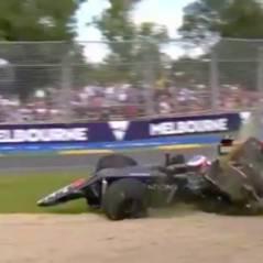 Fernando Alonso miraculé : la vidéo de son crash impressionnant en Australie
