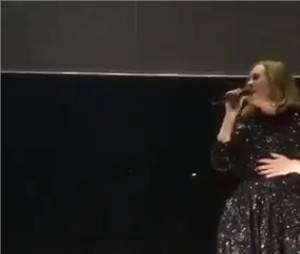 Adele twerk en plein concert