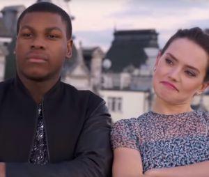 Star Wars 7 : Daisy Ridley et John Boyega en pleine séance de rap