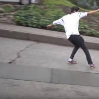 Skater sans skate c'est possible, la preuve en vidéo