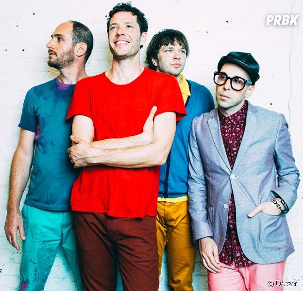 Le groupe OK Go au complet