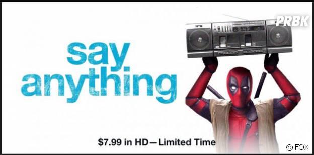 Deadpool parodie Say Anything