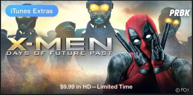 Deadpool parodie X-Men Days of Future Past