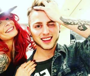 Emilie Nef Naf et AJ Summers sur Instagram
