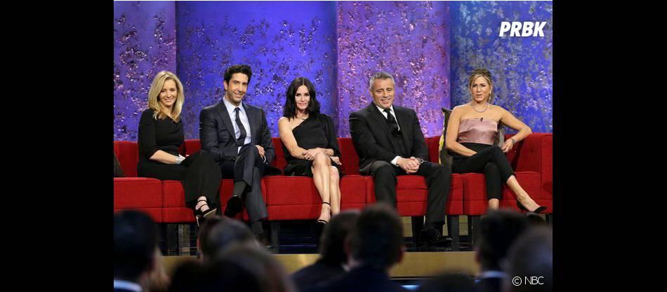 Matt Leblanc, Jennifer Aniston, Courteney Cox, Lisa Kudrow et David Schwimmer s'étaient retrouvés lors d'un prime sur NBC en début d'année 2016.