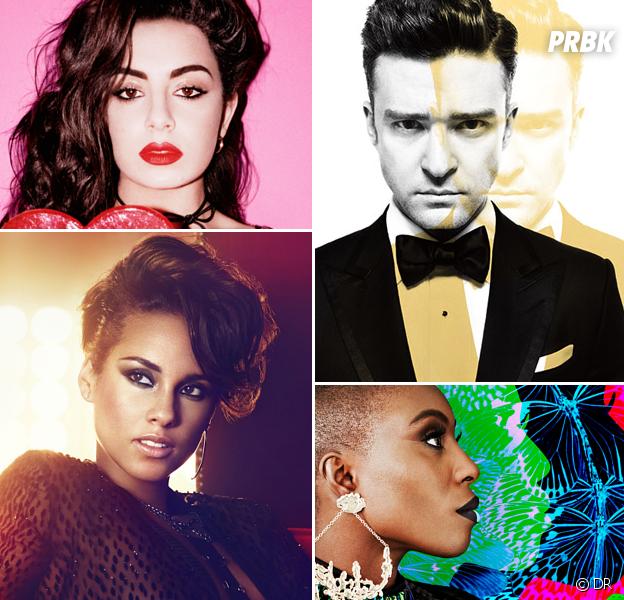 Charli XCX, Justin Timberlake, Alicia Keys et Laura Mvula dynamitent le week-end