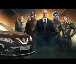 Le Nissan X-TRAIL Day célèbre la sortie du film X-Men : Apocalypse avec des Youtubers.